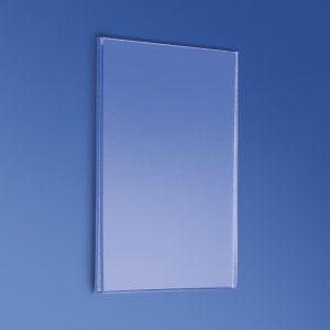 Porta messaggi da parete in plexiglass