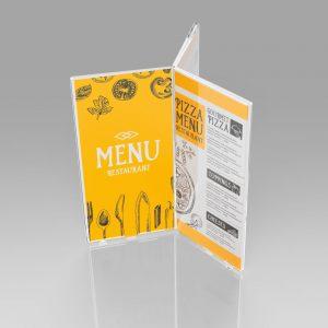 Porta menu multifacciali