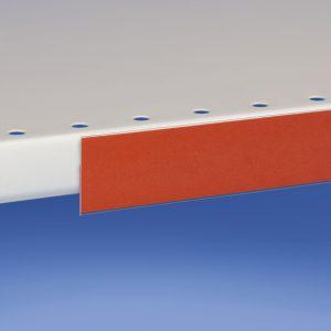 Profili porta prezzi piegati per etichetta altezza 10-60 mm